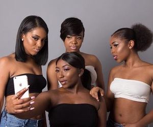 photoshoot, blackgirlmagic, and selfies image