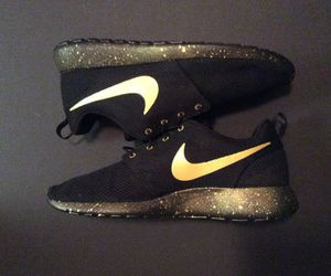 gold and shoes image