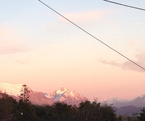 beautiful, mountains, and pink image