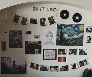 room, art, and indie image