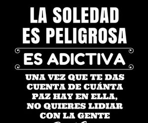 frases, soledad, and quotes image