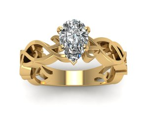 solitaire rings, art deco rings, and womens wedding rings image