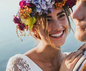 boho and wedding image