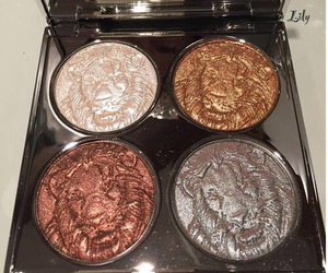 makeup, beauty, and lion image
