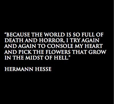 quote and hermann hesse image