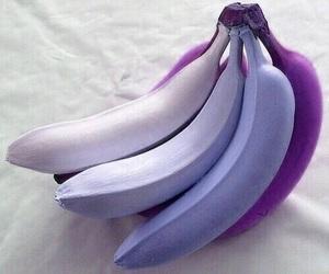 banana, purple, and fruit image