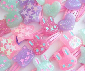 pastel, kawaii, and pink image