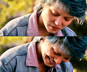 blue, Lea Seydoux, and love image