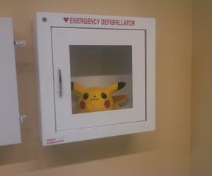 pikachu, pokemon, and emergency image