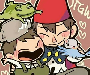 over the garden wall, beatrice, and Greg image