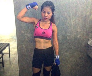 fitness, strong, and fit girl image