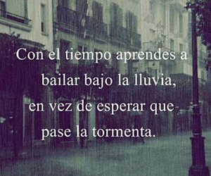 frases, lluvia, and storm image