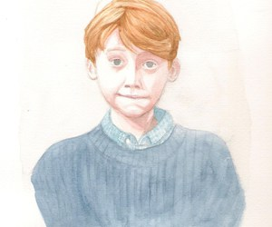 rupert grint, amazing, and drawing image