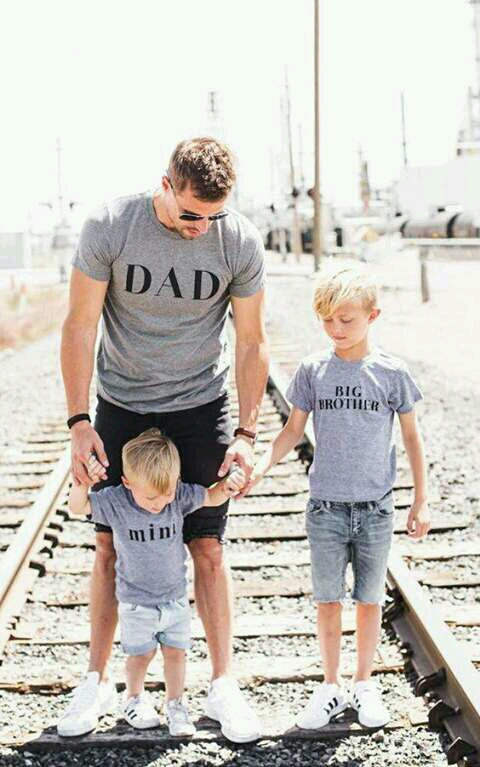dad, family, and baby image