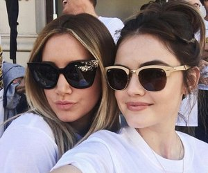 lucy hale, ashley tisdale, and pretty little liars image