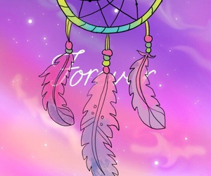 background, cool, and dream catcher image