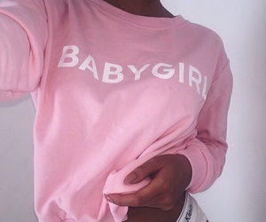 pink, babygirl, and Calvin Klein image