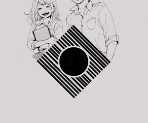 orange, anime, and love image