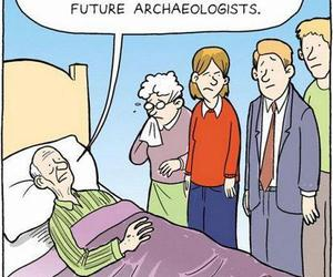 confuse, fun, and archeologist image