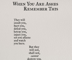 quotes, nikita gill, and ashes image