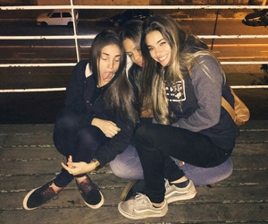 amizade, girls, and friends image
