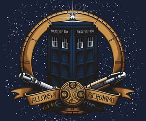 doctor who, Geronimo, and gallifrey image