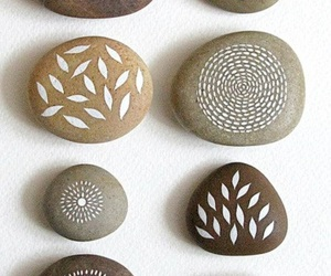 rocks, paint, and pattern image