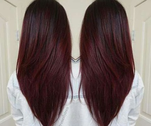 hair, red, and beauty image