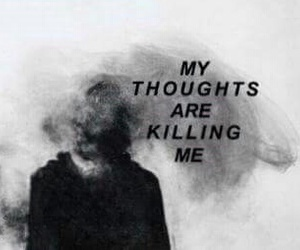 sad, thoughts, and quotes image