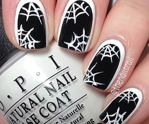 Halloween, halloween nails, and halloween nail art image