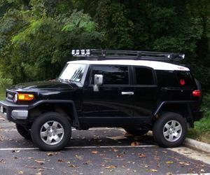 black, SUV, and Toyota image