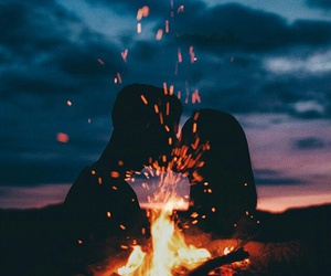 fire and love image