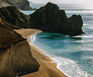 places, beach, and nature image