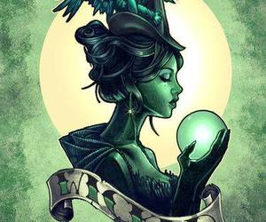 wicked, witch, and art image
