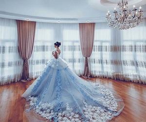 bride, princess, and wedding image