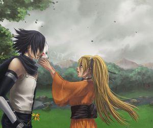 girl, sasuke, and uchiha image