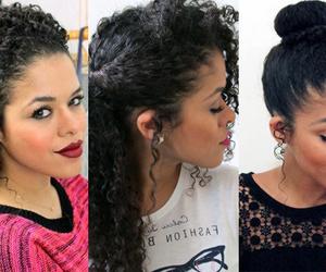 simples, penteados, and cacheados image