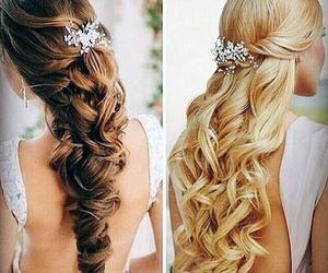 penteados, meio solto, and semi solto image