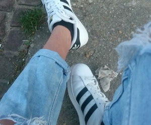 adidas, boyfriend, and denim image