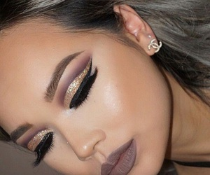 aesthetic, fashion, and makeup image
