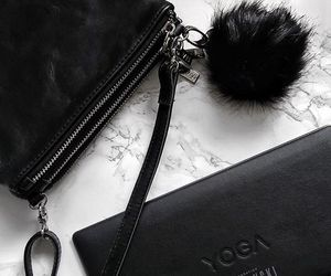 bag, black, and marble image