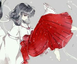 fanart, inuyasha, and kikyo image