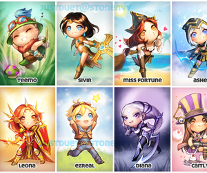league of legends, chibi, and lol image