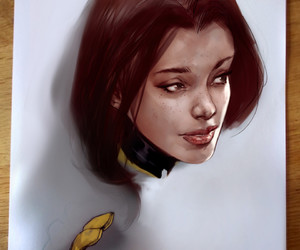 art, x-men, and kitty pryde image