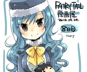 anime, fairy tail, and juvia lockser image