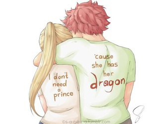 nalu, anime, and fairy tail image