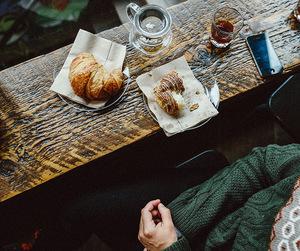 coffee, breakfast, and vintage image