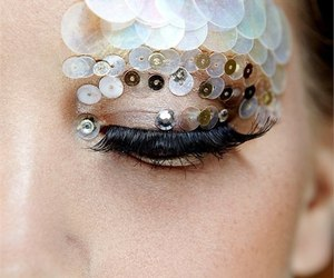 beautiful, make up, and eyebrows image