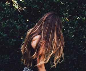 hair, girl, and tumblr image