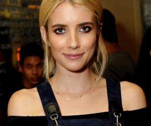 actress, blonde, and emma roberts image